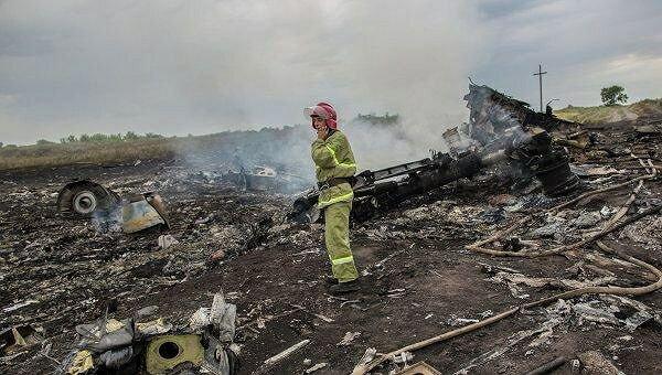 Украинские спасатели нашли «черный ящик» разбившегося «боинга»