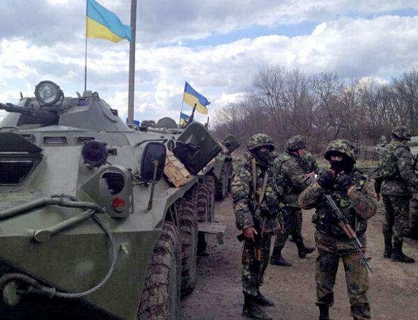 Украинские танки прорвались в Донецк. Идут ожесточенные бои