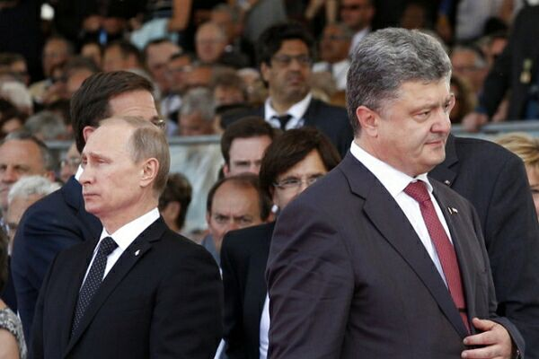 Президент РФ В. Путин и президент Украины П. Порошенко с представителями ЕС встретятся в Минске