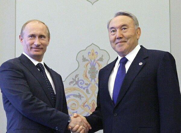 Путин и Назарбаев готовы содействовать разрешению украинского конфликта