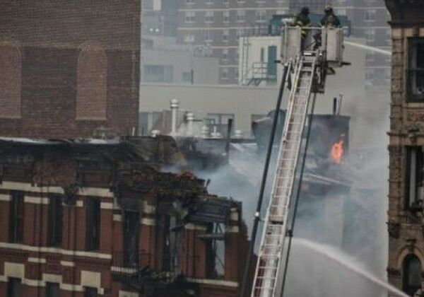 Манхеттен взрыв дома