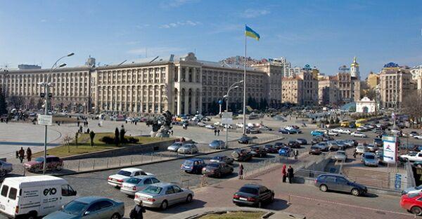 Украинская армия в массовом порядке конфискует транспорт в Киеве