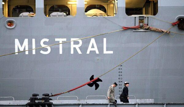 Россия и Франция договорились о неустойке за «Мистраль»