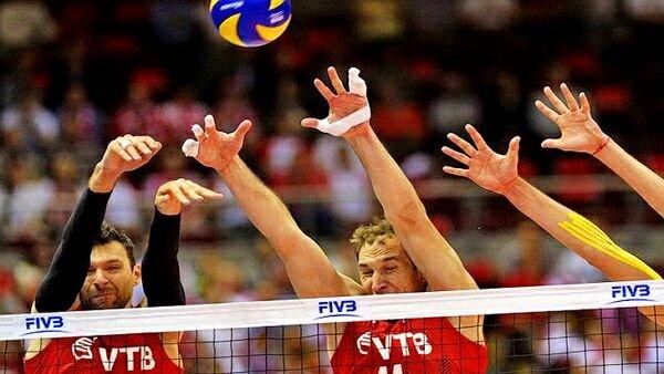 Россияне обыграли сборную Канады в Кубке мира по волейболу