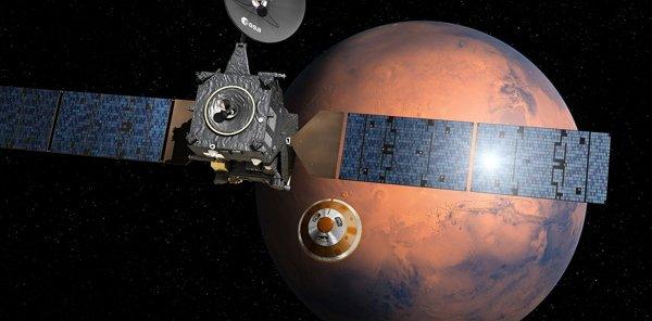 а космическом корабле ExoMars-2016 работает российский прибор FREND в постоянном режиме