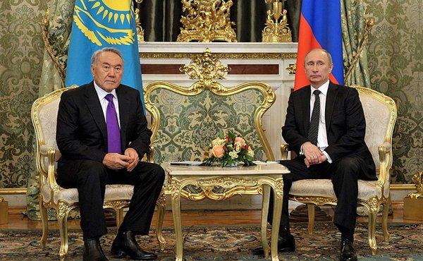 Переговоры Путина и Назарбаева пройдут в Астане