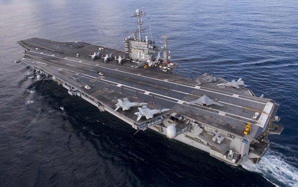 Предупреждение Российской Федерации в виде переброски авианосца США