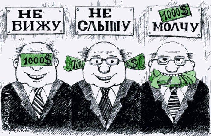 Генеральная прокуратура составила карту российской коррупции