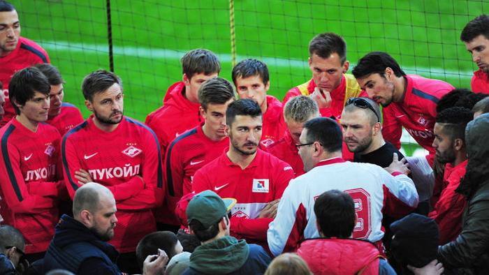 Болельщики «Спартака» не смогут увидеть контрольные матчи