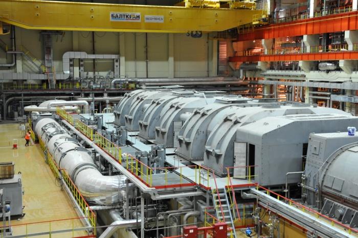 На новом энергоблоке Белоярской АЭС был совершен пробный запуск турбины