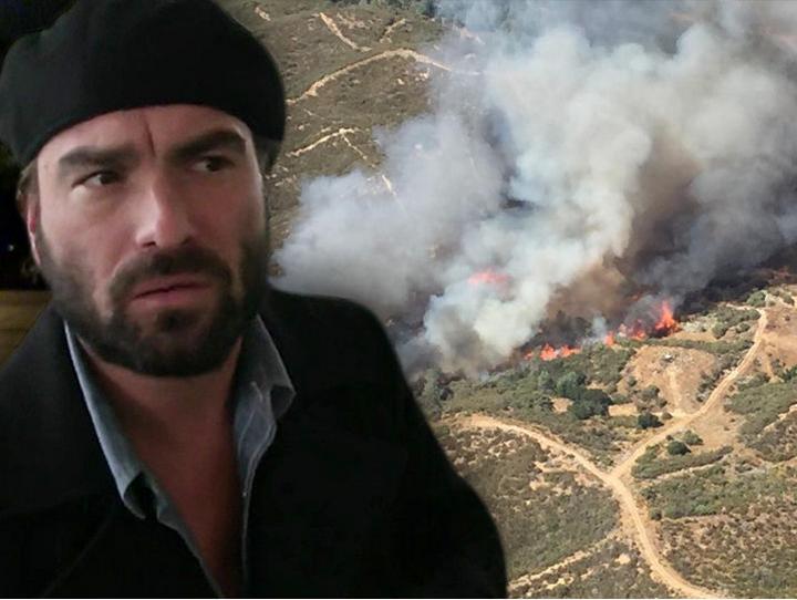 Пожар на ранчо Джонни Галэки