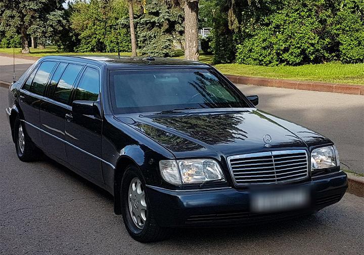 Автомобиль Бориса Ельцина выставили на продажу