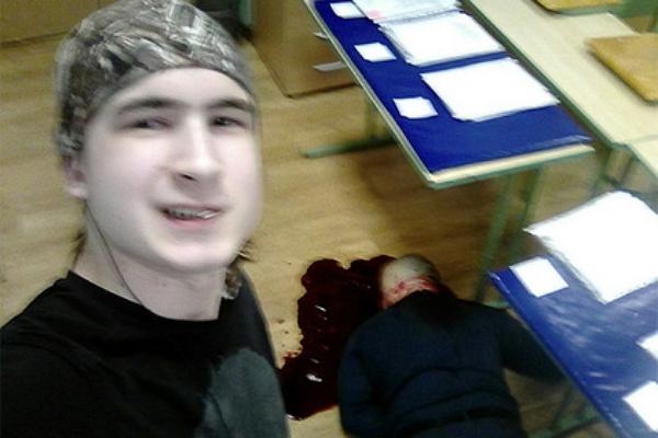 Столичный студент «заселфился» на фоне трупа преподавателя