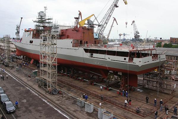 Незалежна оставила Россию без адмиральских кораблей