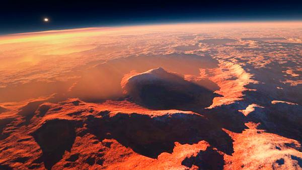 Ученые считают, что ранее Марс был таким же, как и Земля