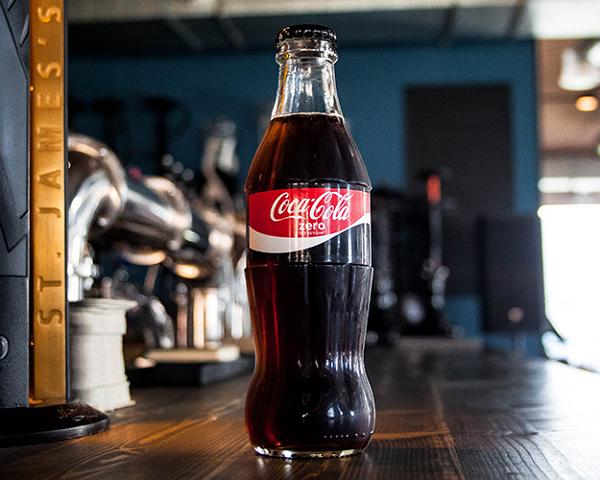 Продажа низкокалорийной Coca-Cola увеличилась в два раза