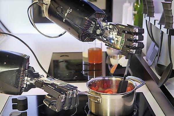 В американском ресторане Spyce за приготовление блюд отвечают роботы