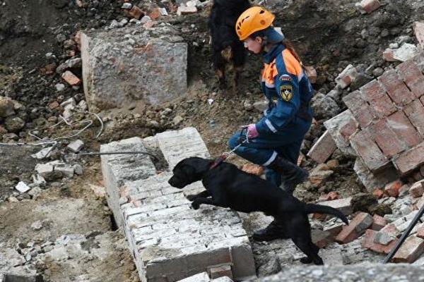 В Омской области обрушилось здание завода