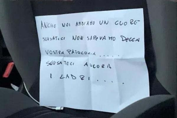 Итальянские угонщики вернули авто, узнав о болезни хозяйки